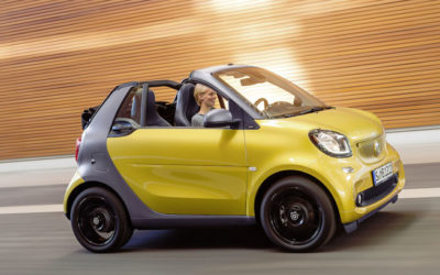 Smart FourTwo Cabrio 70 1.0 52kW youngster twinamic Cabrio