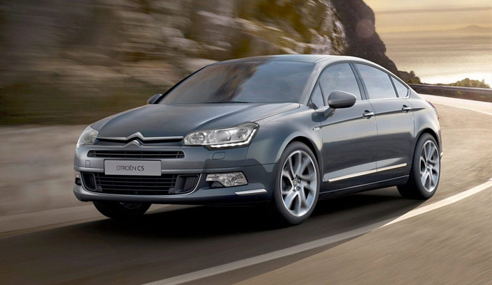 Citroen C5 SEDUCTION SEDAN BLUE HDI 150